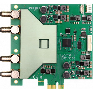 PCIe карта 8 DVB-S2 Tuner Digital Devices MAX S8 Германия